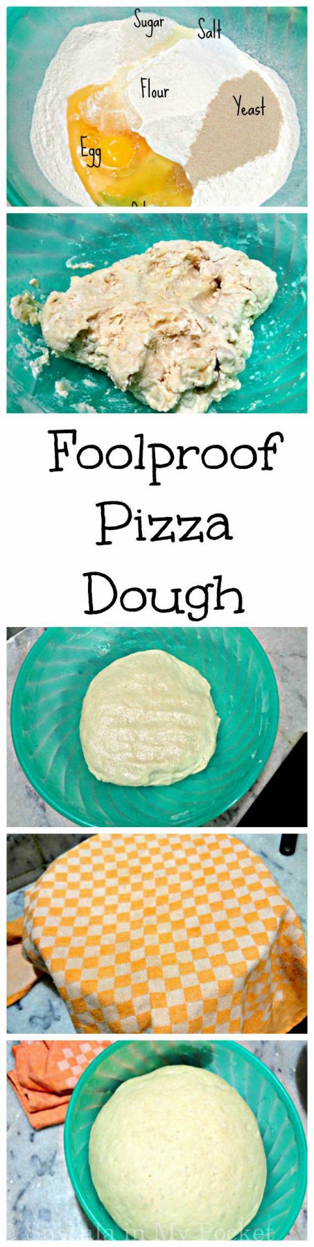 Homemade pizza dough made so simple, with guaranteed perfect results every time!