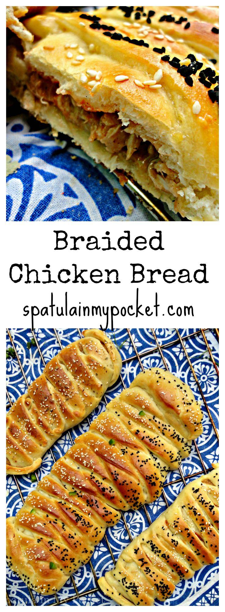 Easy Braided Chicken Bread Spatula In My Pocket