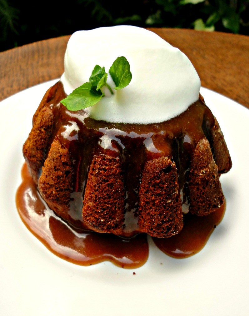 Sticky Toffee Pudding..rich, buttery, and oh so decadent.