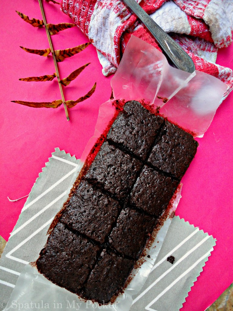 Small batch of brownies not meant for sharing!