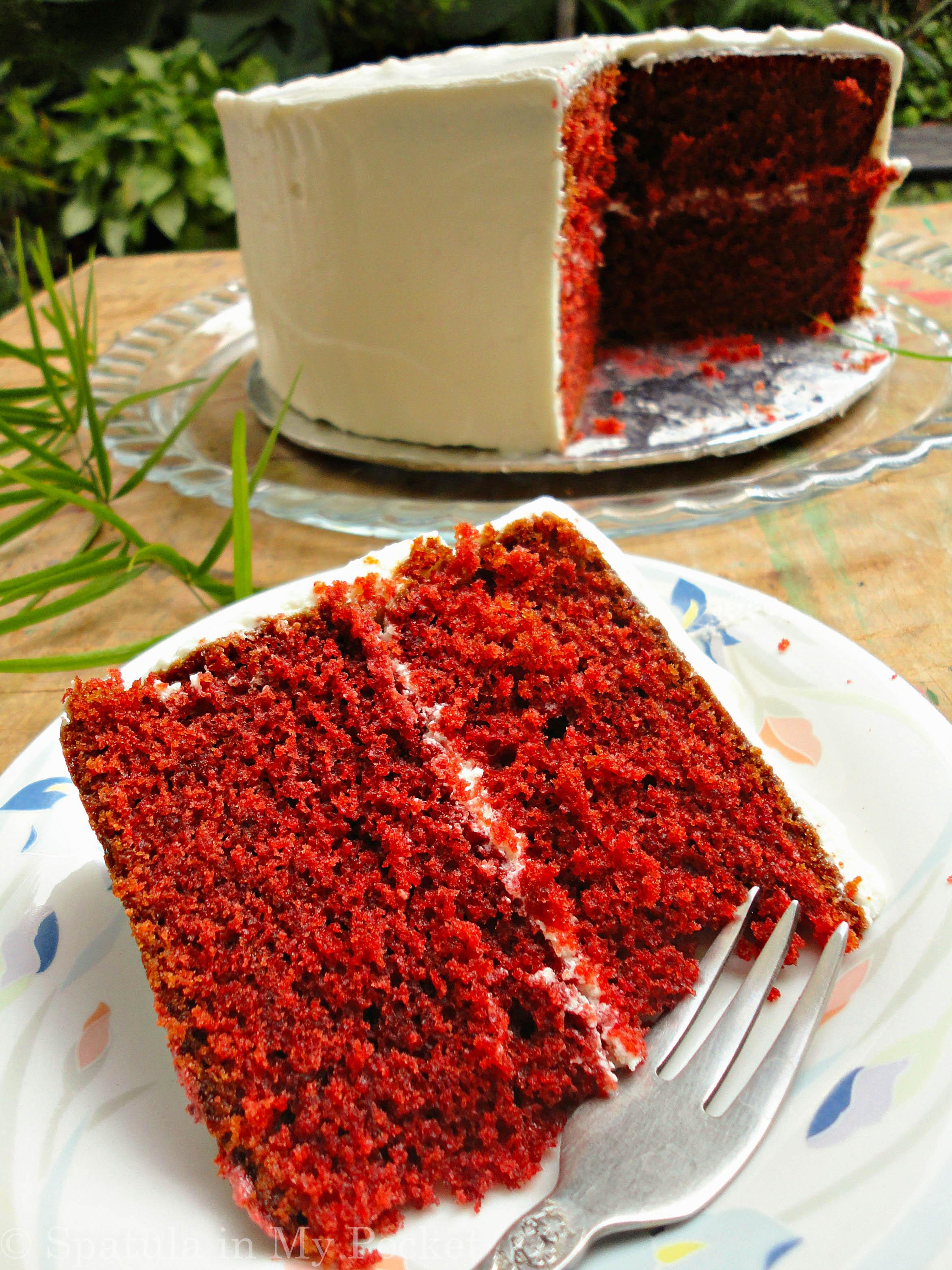 I need a recipe for red velvet cake