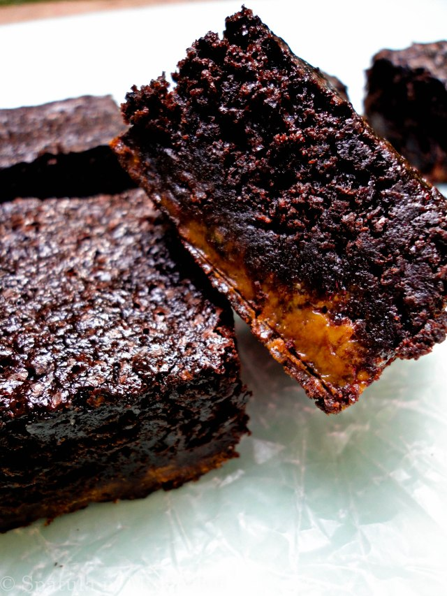 Caramel and chocolate anything is to die for, to tell the truth. But brownies bring it to a whole new level.