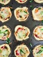 Mini Pizza Pies. The perfect snack idea!