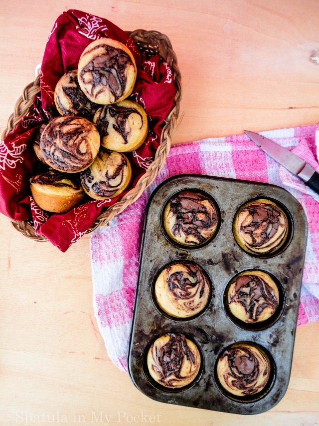 These pumpkin Nutella swirl muffins are the BOMB. They're soft, tender, and extremely moist. You won't be able to stop at one!