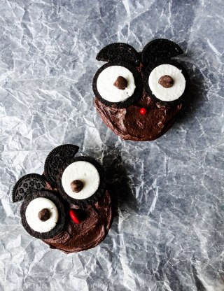 These wide eyed Owl Cupcakes make for an adorable Halloween treat!