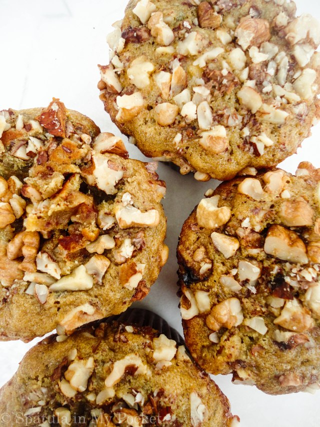 anana Nut Muffins. The squishiest, most delicious muffins you'll ever eat.