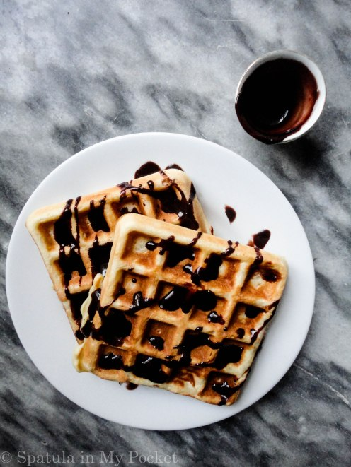 This is, hands down, the best waffle recipe EVER! #crispy #fluffy #waffles